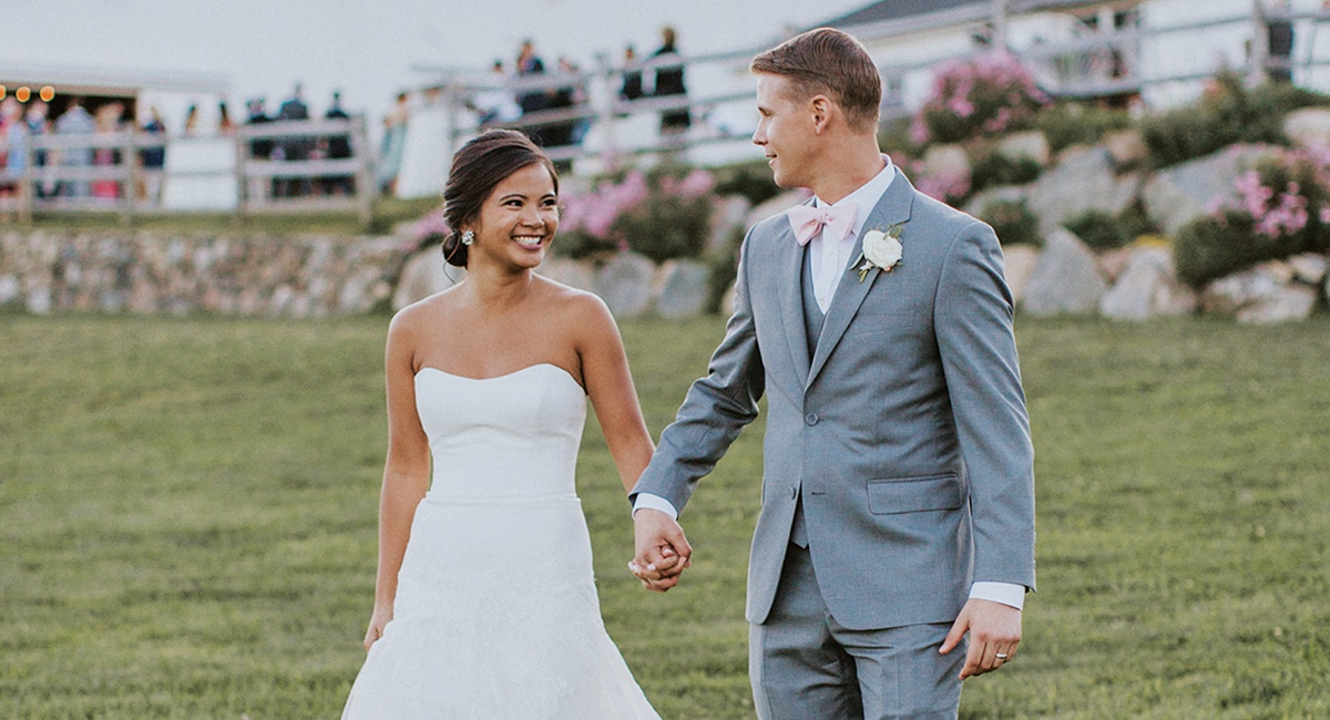 Real New England Wedding: Kristin Ocampo & Mark Sliwinski