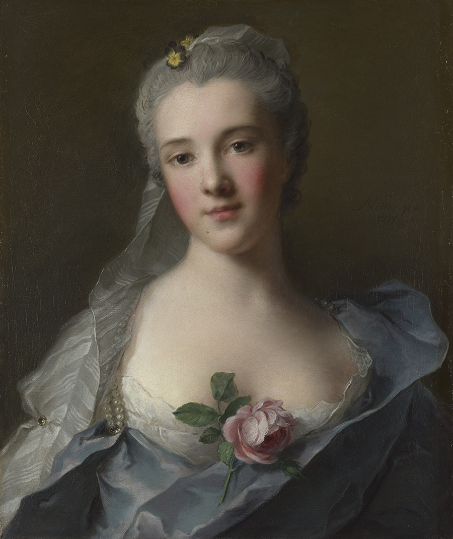 MFA Casanova's Europe Manon Balletti by Jean Marc Nattier