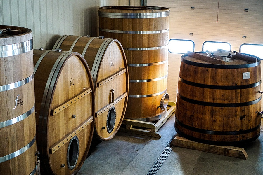 Foeders and other barrels will allow Bissell Brothers to make sour and funky beers at Three Rivers