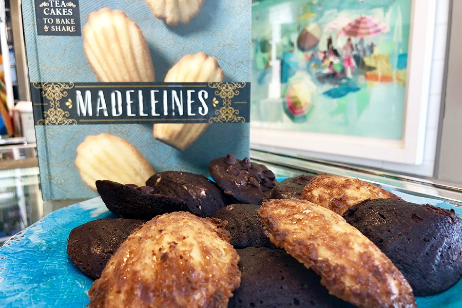 Madeleines—delicate tea cakes—are the menu star at Quincy's new Cafe Maddie.