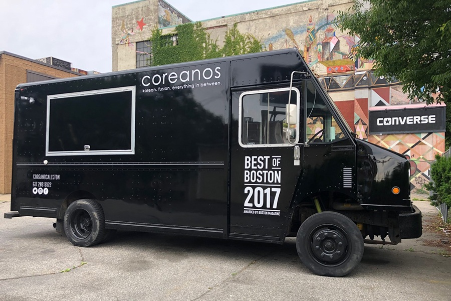 Coreanos food truck Boston