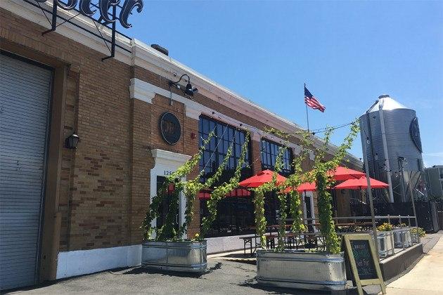 Dorchester Brewing Co. entrance