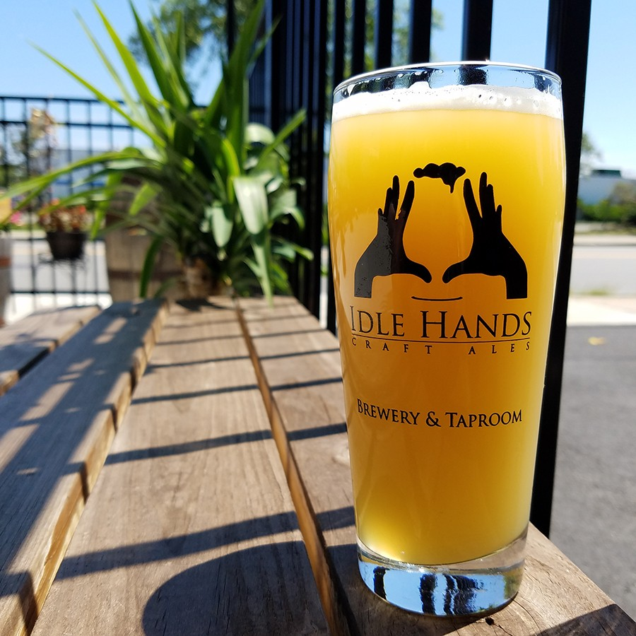Change Up 13: Ales for ALS is now available at Idle Hands taproom in Malden.