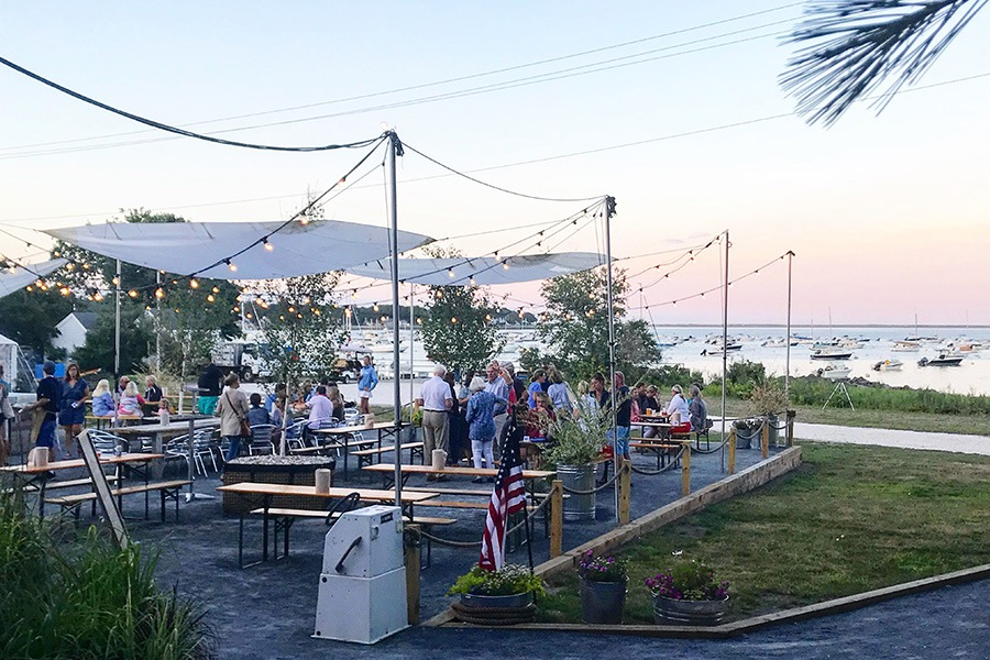 The Raw Bar is now open at Island Creek Oyster Farm in Duxbury