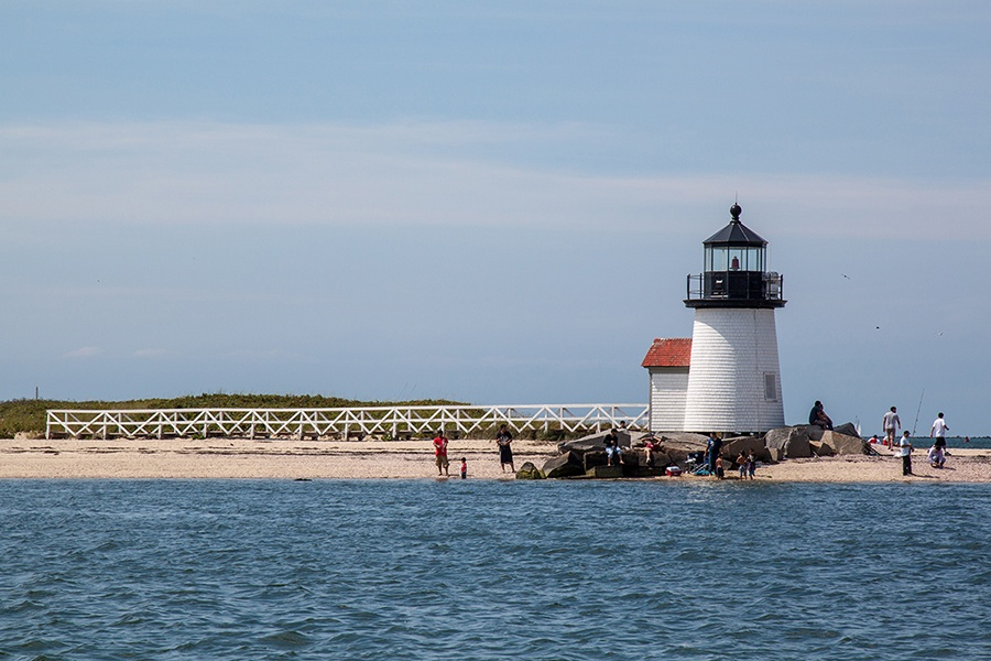 One of the three lighthouses of Nantucket