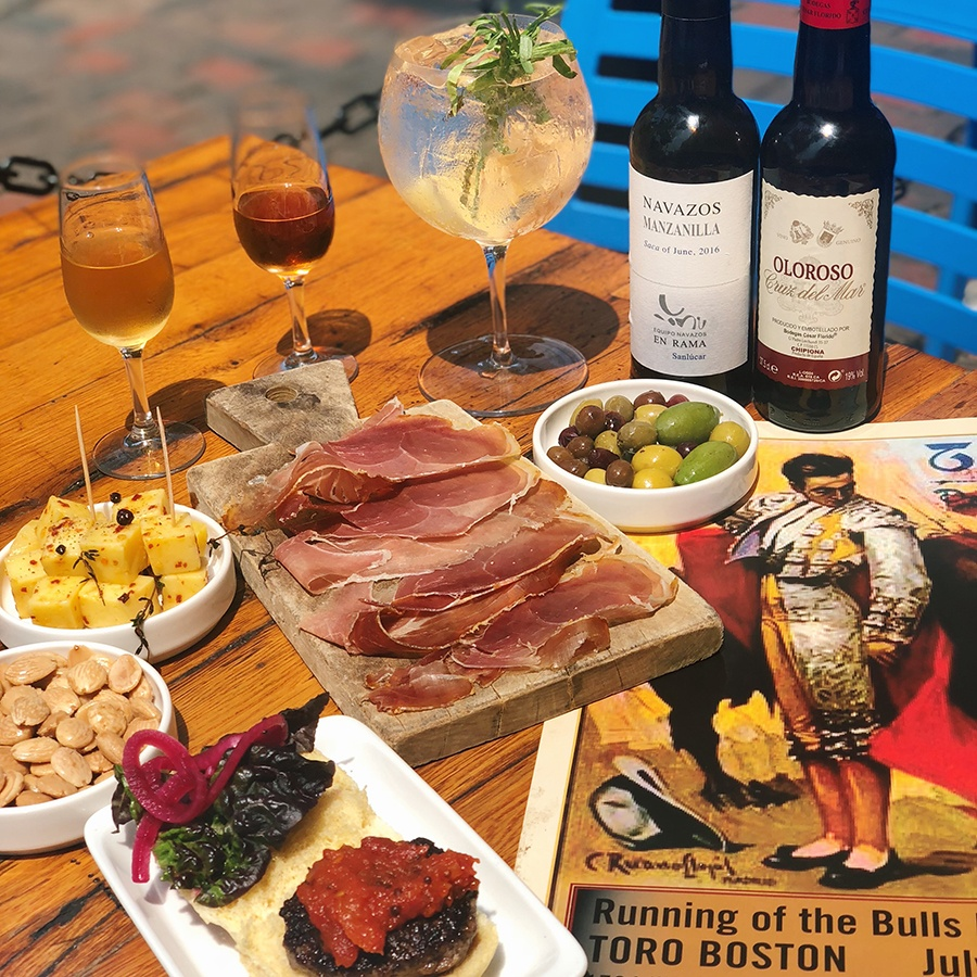 Toro hosts a Running of the Bulls fiesta on Sunday with gin and tonics, pintxos, and more