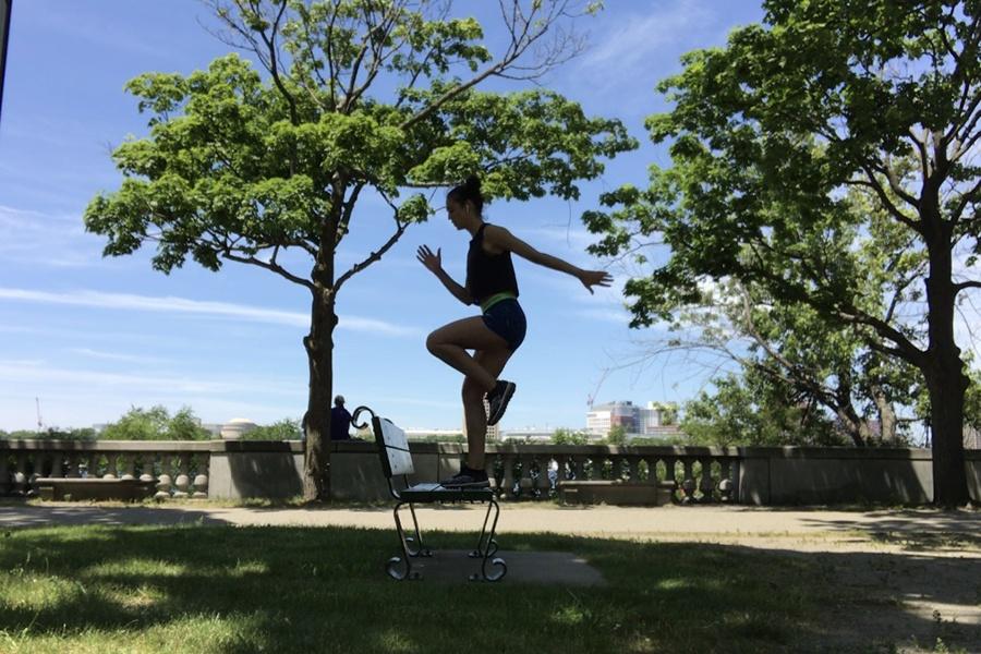 Esplanade workout