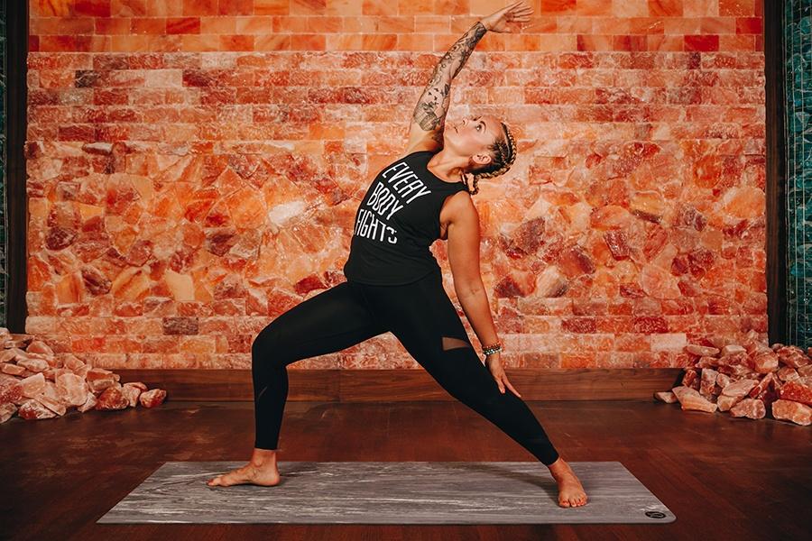 salt cave yoga