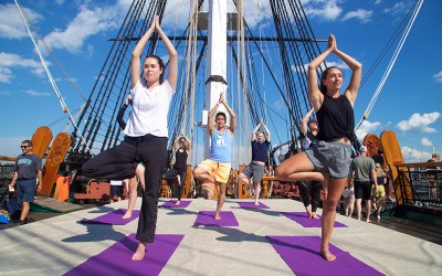 Old Ironsides yoga