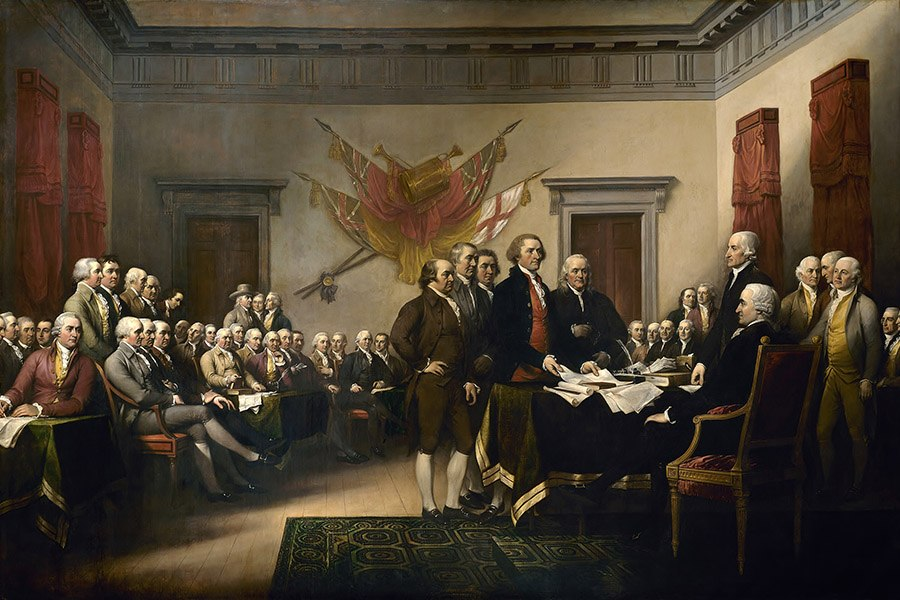 John Trumbull Declaration of Independence