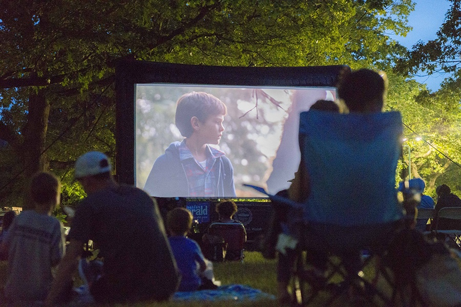 Mayor Martin J. Walsh's Movie Nights Boston Parks