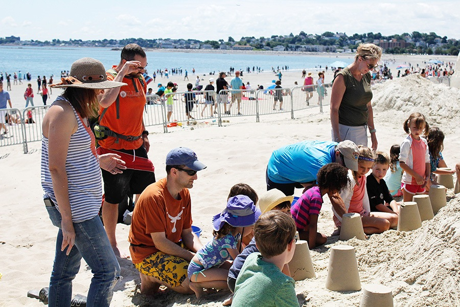 15th Annual Revere Beach International Sand Sculpting Festival