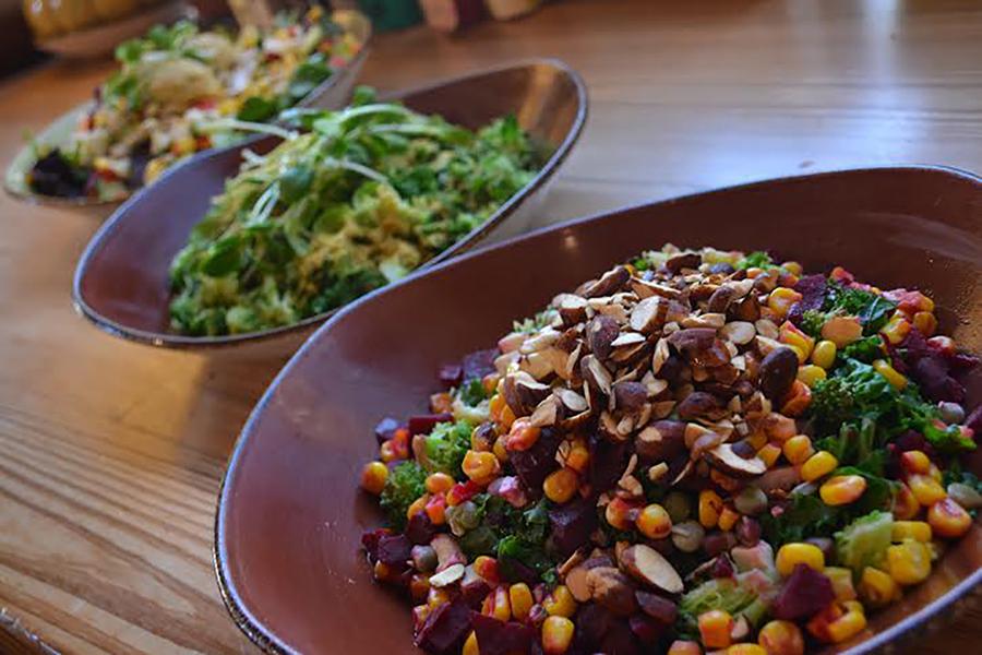 Healthy grain bowls at Life Alive