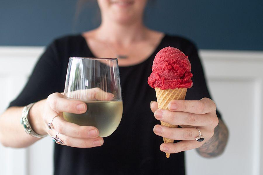 Noca Provisions Tosci Ice Cream & WIne