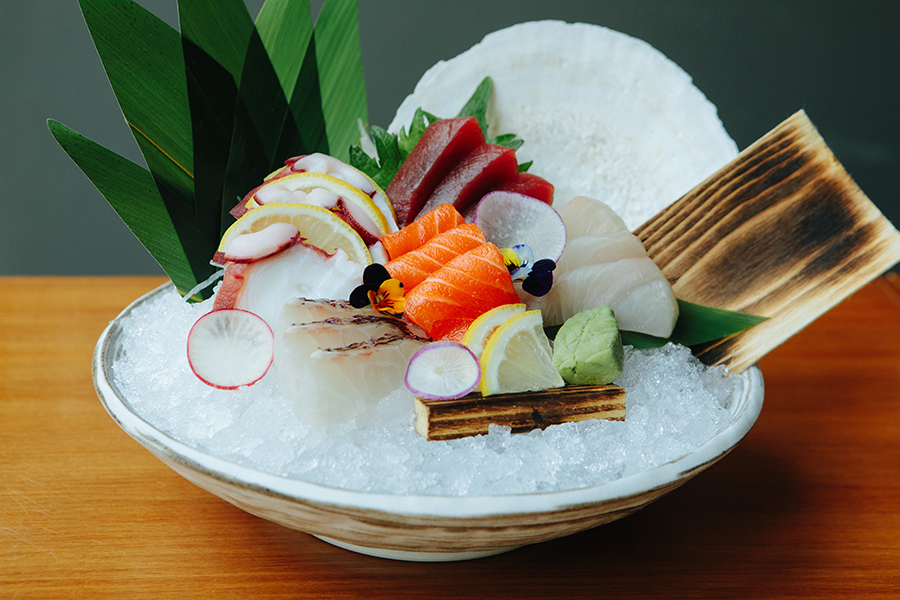 PABU Boston Assorted Sashimi