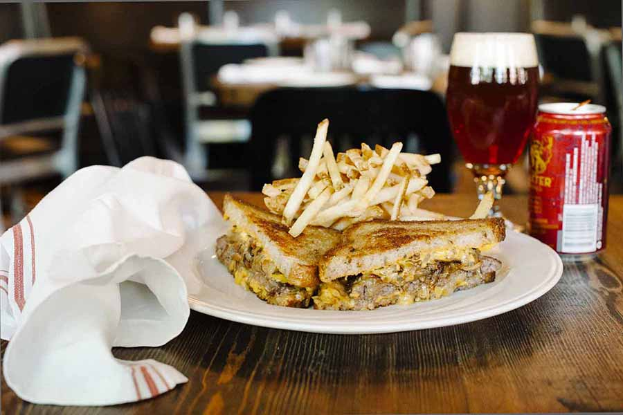 The Park patty melt is one of several year-round, late-night specials now on the menu across the Grafton Group restaurants