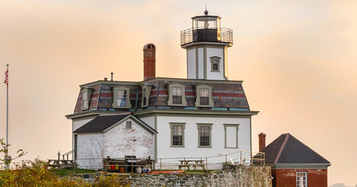 Cool Six New England Lighthouses You Can Stay The Night In Download Free Architecture Designs Scobabritishbridgeorg