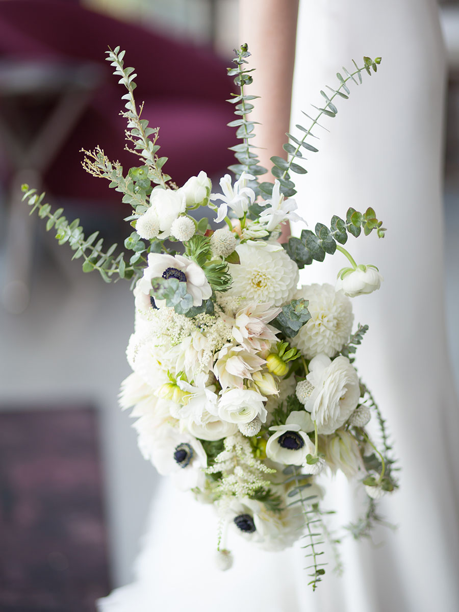 brittany mckinley wedding bouquet