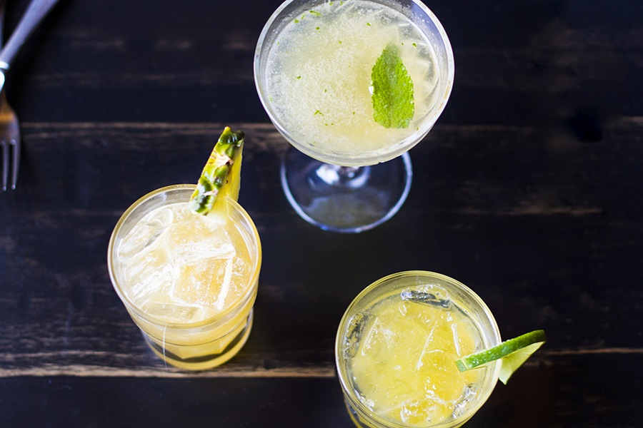 cocktails at Casa Caña in Allston