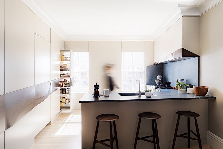 A Minimalist Kitchen In The South End