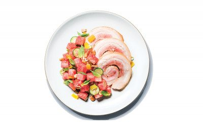 Chickadee porchetta