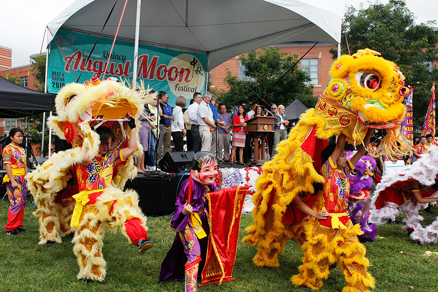 31st Annual Quincy August Moon Festival Lion Dance