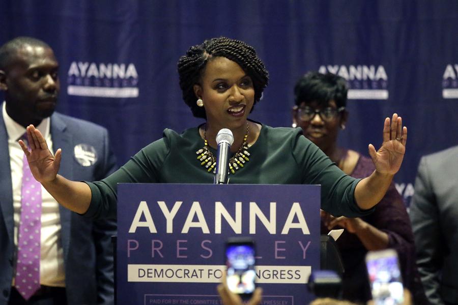 Ayanna Pressley primary