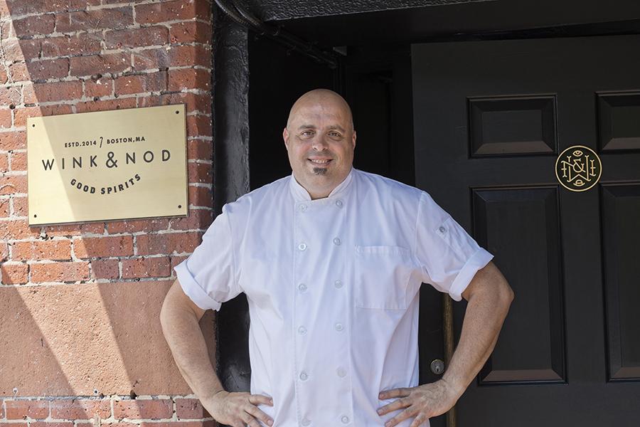 Chef Tony Susi of Ripasso at Wink & Nod.