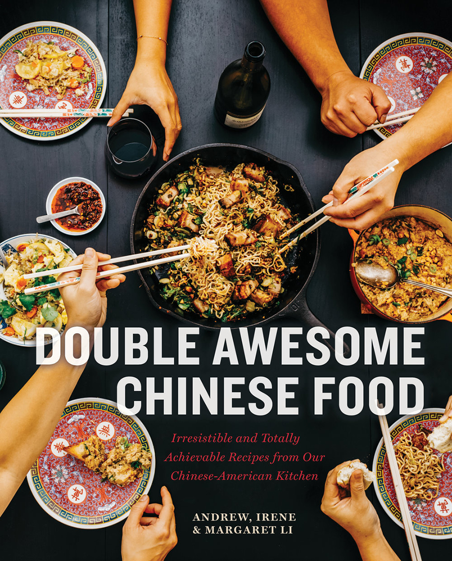 "Mei Mei restaurants"" Double Awesome Chinese Food"" cookbook cover image"