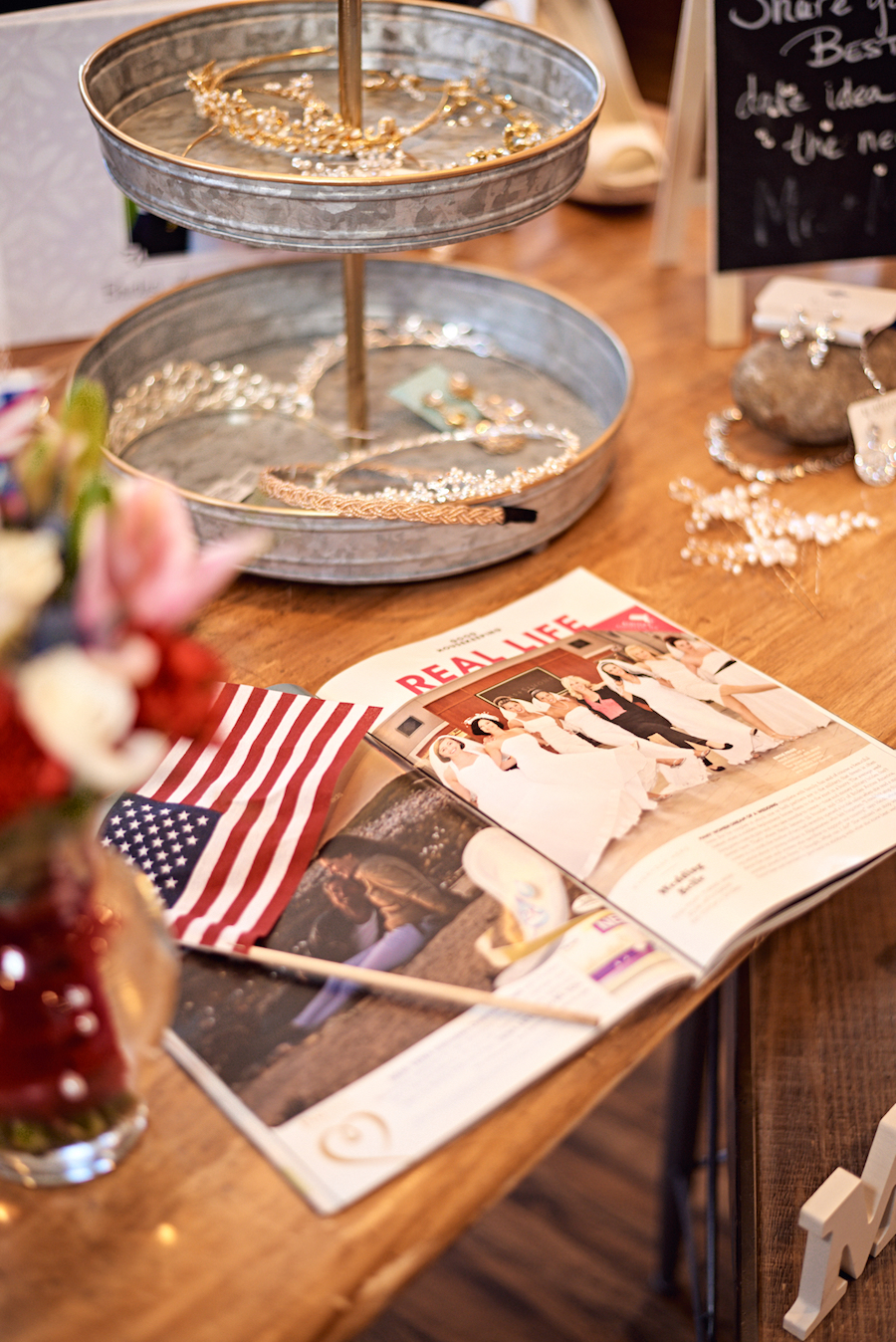 Brides Across America accessories