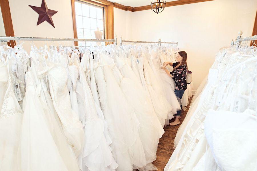 Brides Across America dresses