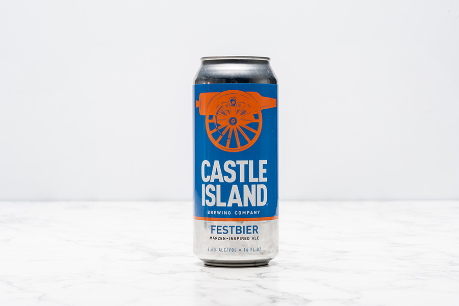 Castle Island Festbier can
