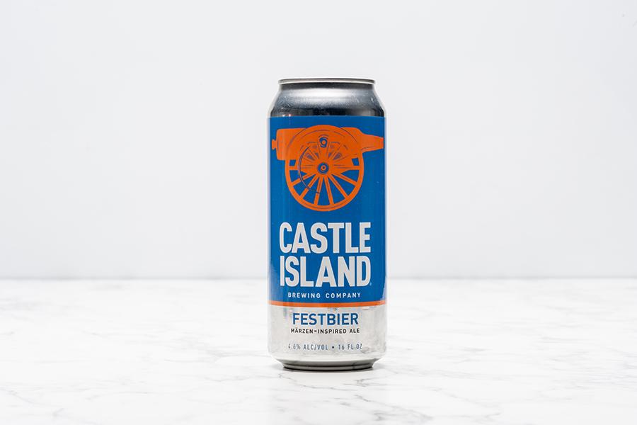 Castle Island Festbier can