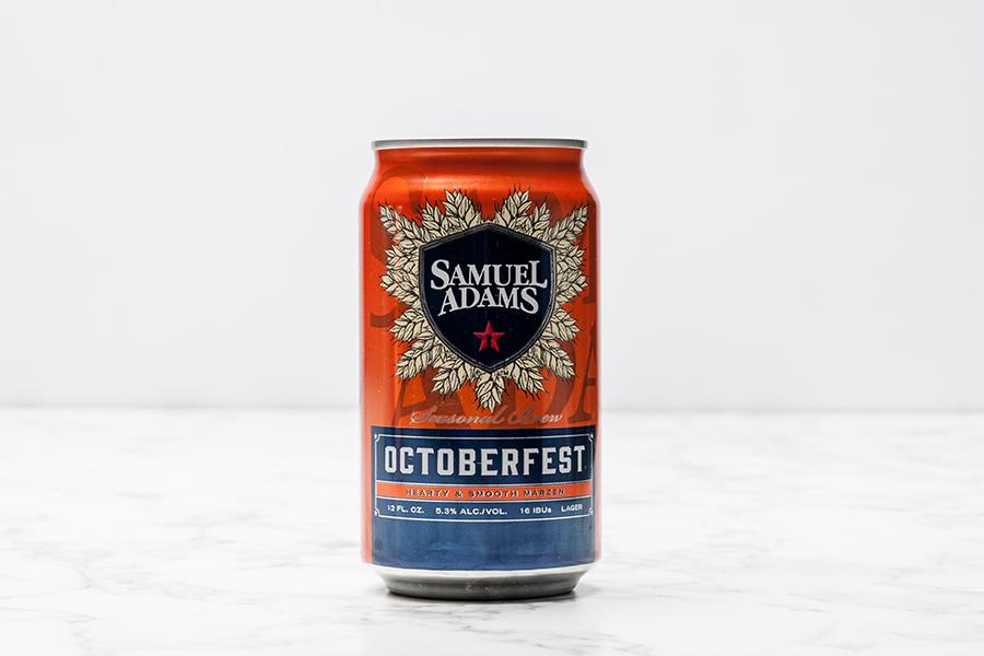 Samuel Adams Octoberfest can