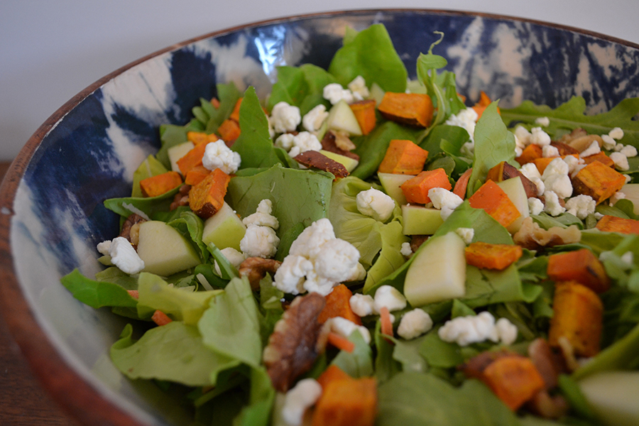 fall salad recipe