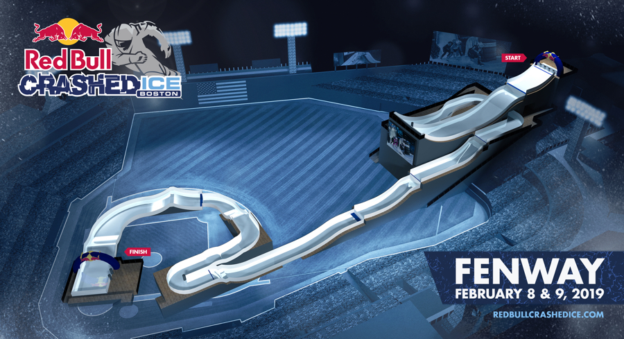 Red Bull Crashed Ice, Dangerous and Wickedly Fun, Is Coming