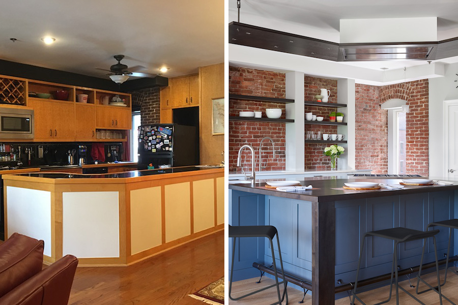 Renovation Planning Gives A Kitchen An IndustrialChic Upgrade Classy Kitchen Remodeling Boston Plans