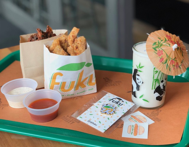 The Fuku x Little Donkey snack box