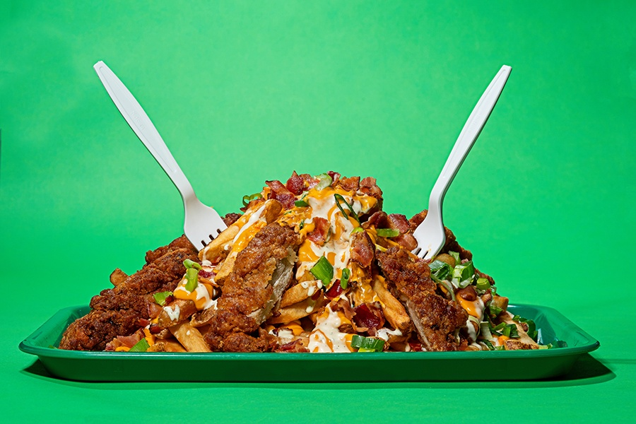 Fuku Boston Loaded fries