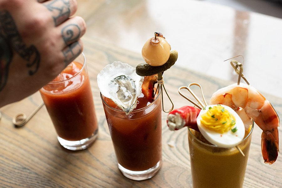 Choose your own Bloody Mary adventure at Island Creek Oyster Bar in Burlington