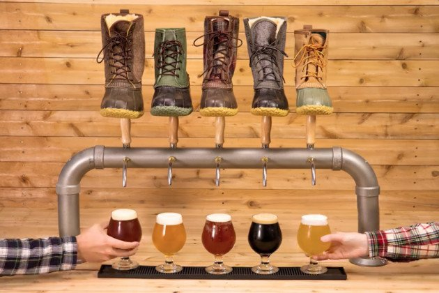 L.L. Bean 2018 beer collaboration promo video