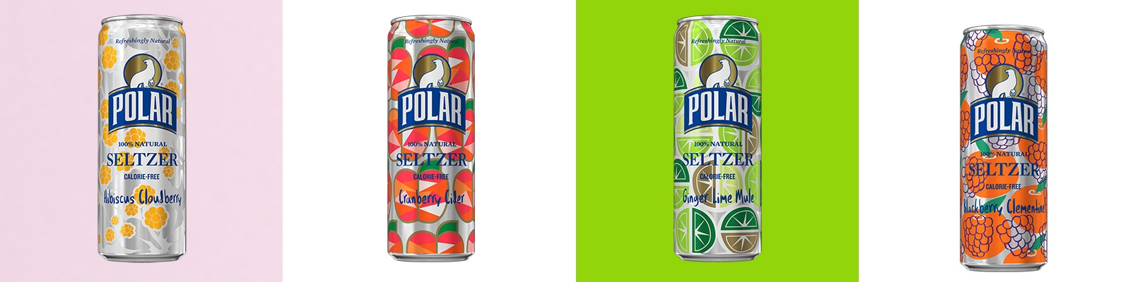 Polar Seltzer winter 2018 flavors slim cans