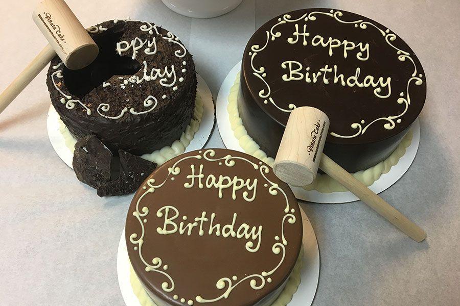 Serenade Chocolatier's piñata cakes