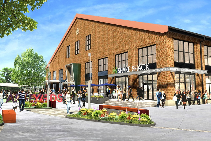 Shake Shack Watertown rendering