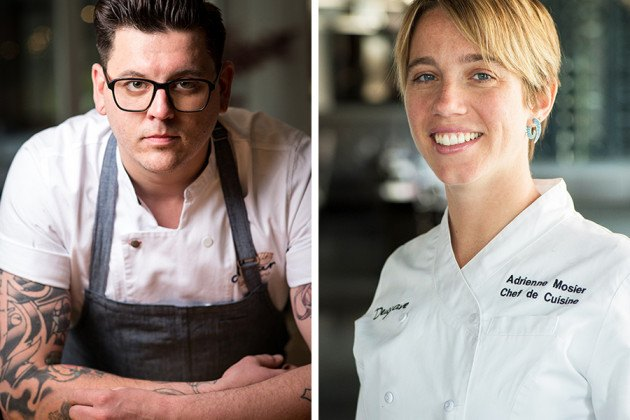 "Bright Young and Adrienne Wright are two Boston chefs who will be on ""Top Chef"" Season 16"