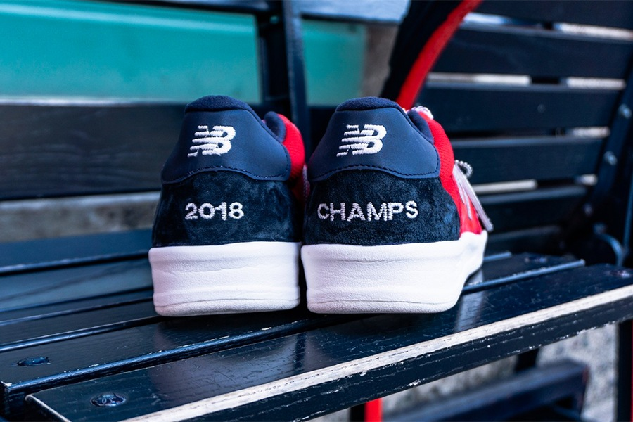 New Balance Launches Limited-Edition Boston Red Sox Sneakers 6a2ac6ab1f
