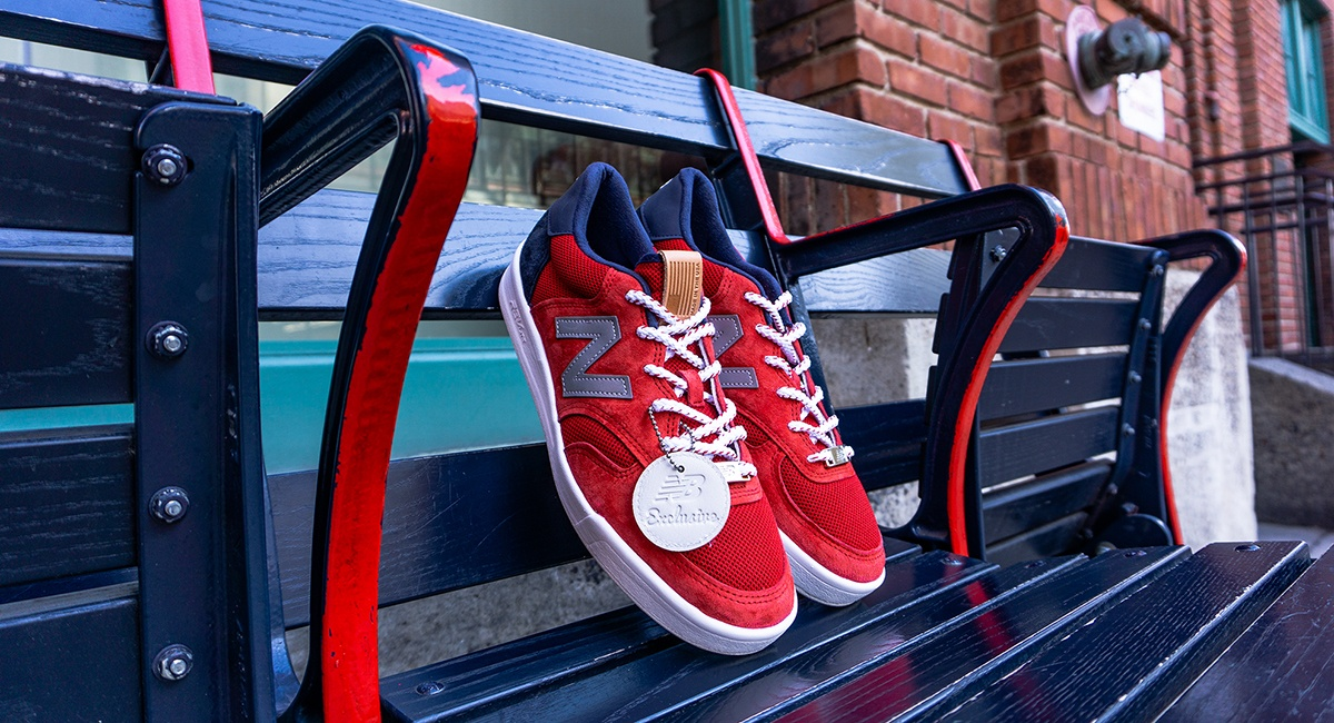 c35445190dd6c6 New Balance Launches Limited-Edition Boston Red Sox Sneakers