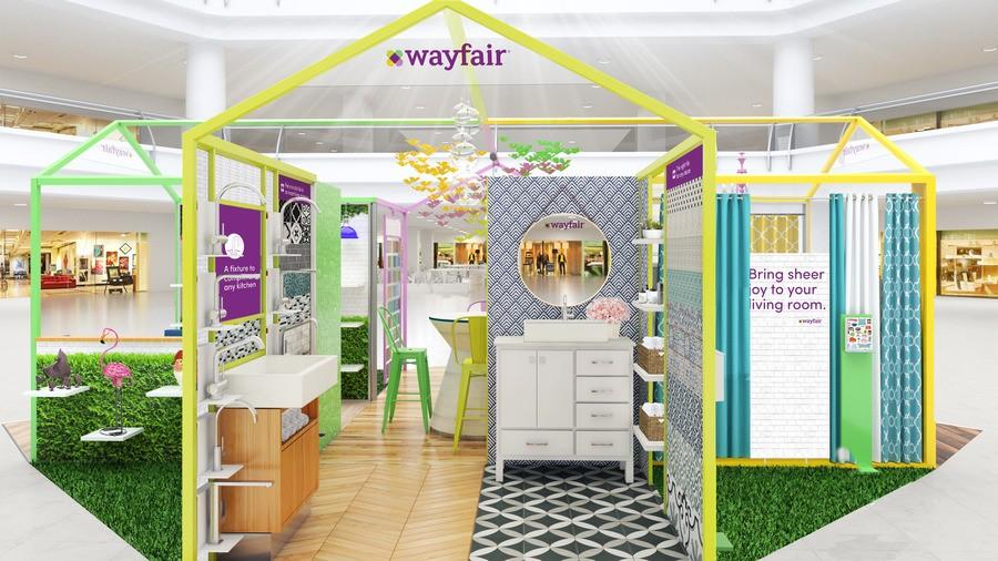 wayfair pop-up