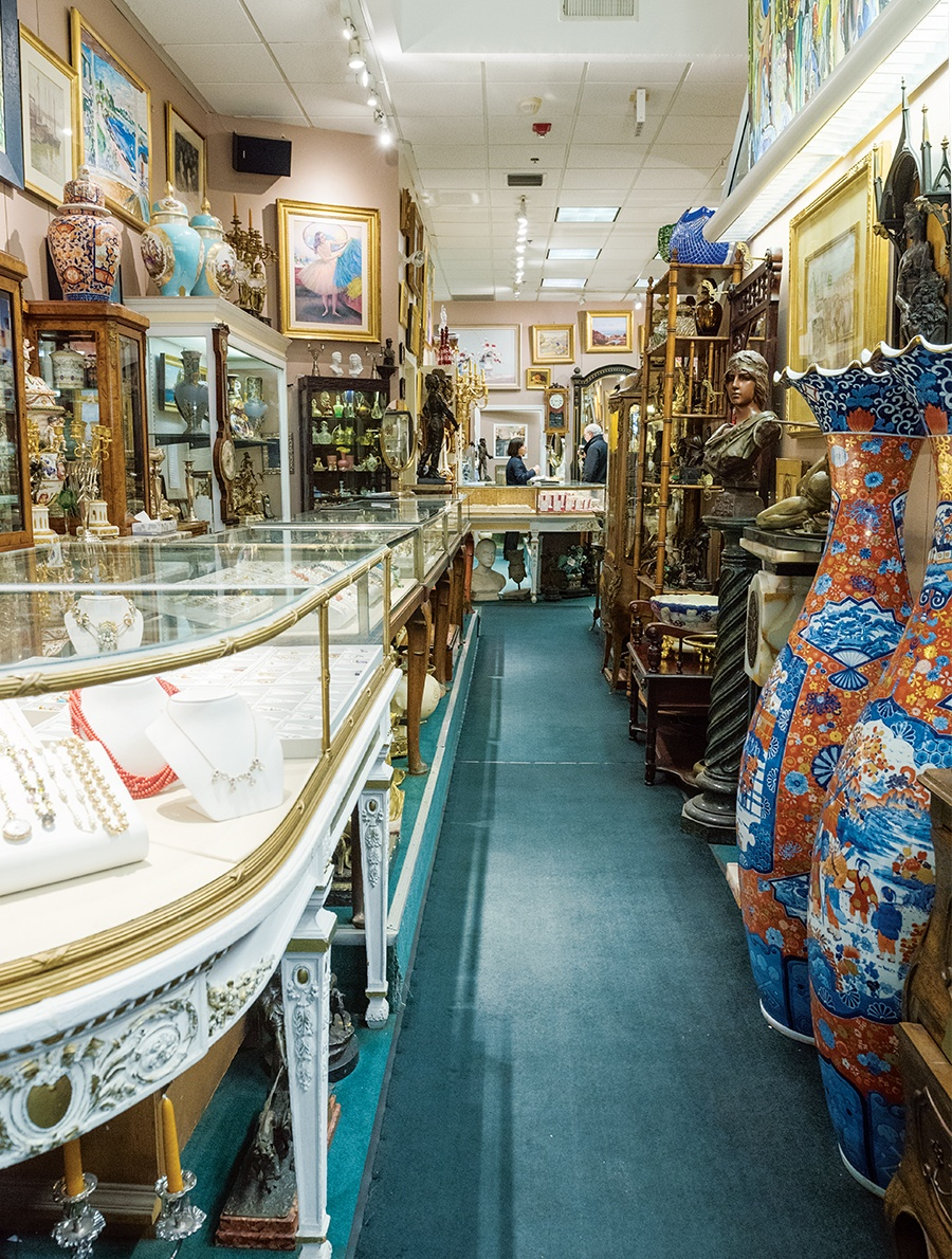 Best of Boston Home Brodney Antiques and Jewelry