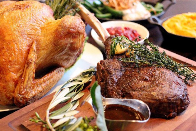 Both locations of Boston Chops are open Thanksgiving Day with steakhouse fare and holiday specials